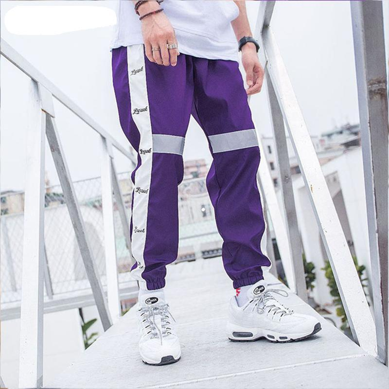 Hip hop retro loose sweatpants - thistylish