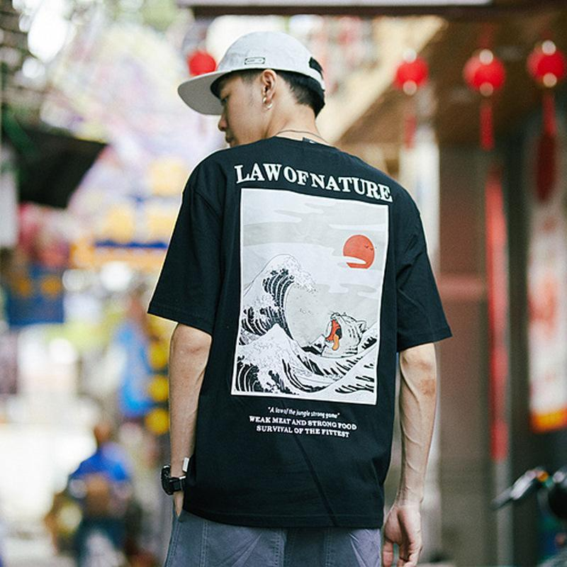 Men Law of nature T shirts