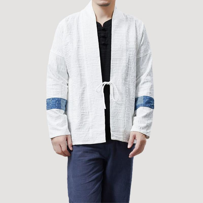 Vintage Ethnic Chinese style Linen cardigan