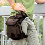 Men Canvas Drop Leg Bag - freakichic