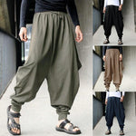 Men's retro casual original design harem pants