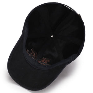 Men's casual baseball cap outdoor embroidery sunhat - freakichic