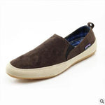 Summer breathable men's shoes trend suede British wind lazy shoes