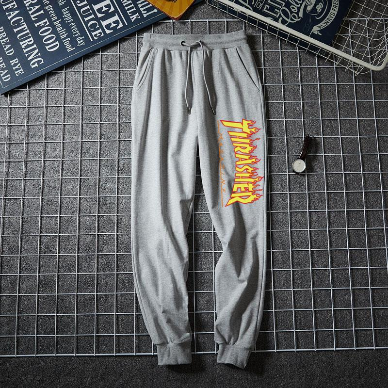 Yellow Thrasher Pants Unisex Joggers