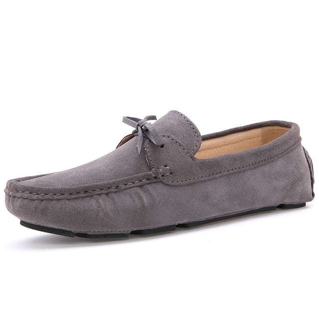 Men Loafers Moccasin hombre Casual Suede Leather Shoes
