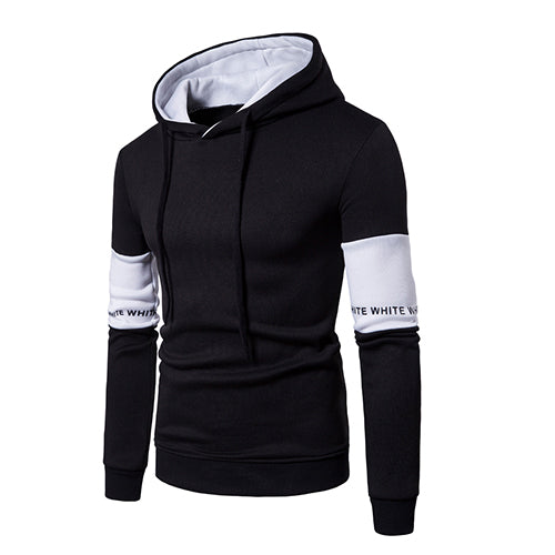 Casual Mens Hoodies Streetwear Hip Hop Long Sleeve Hoodie