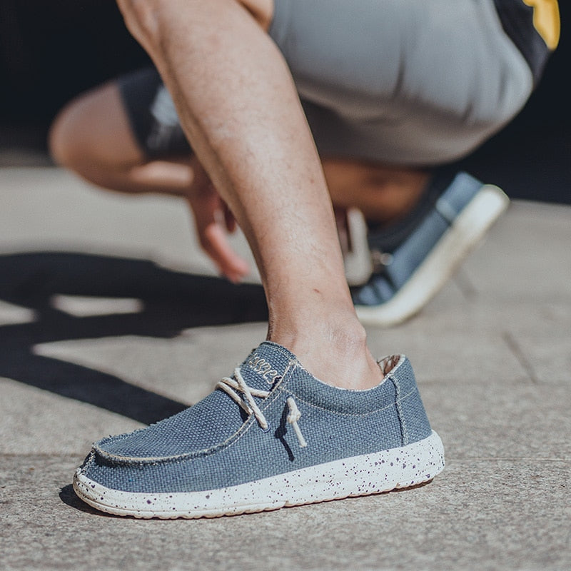 2019 summer canvas casual soft-soled shoes