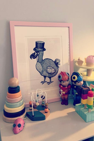 'The Gentleman Dodo' art print
