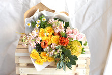 Load image into Gallery viewer, Sunshine Wrapped Bouquet