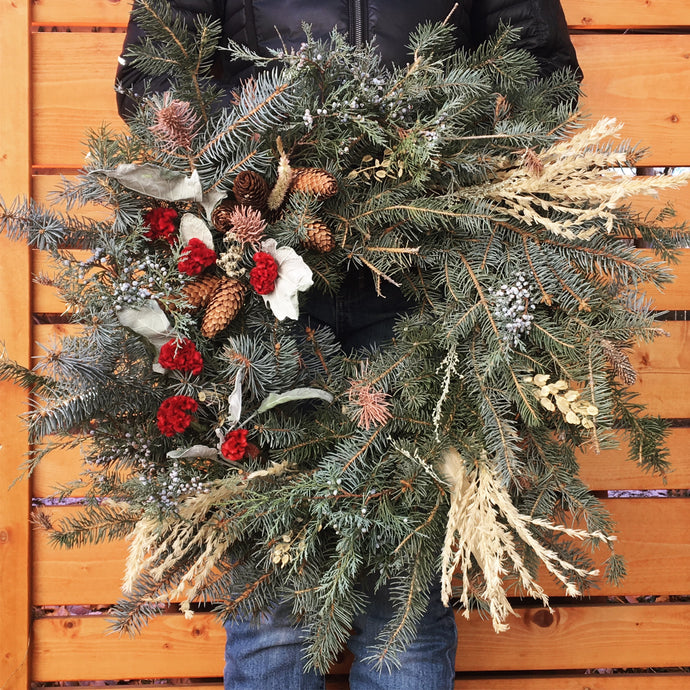 Holiday Wreath Workshop - Thursday, Dec 5th, 6-8pm