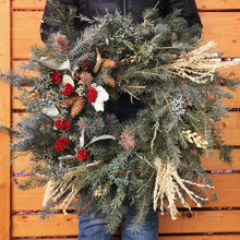 Load image into Gallery viewer, Holiday Wreath Workshop - Monday, Dec 9th, 6-8pm