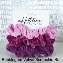 Load image into Gallery viewer, Velvet Scrunchie Sets