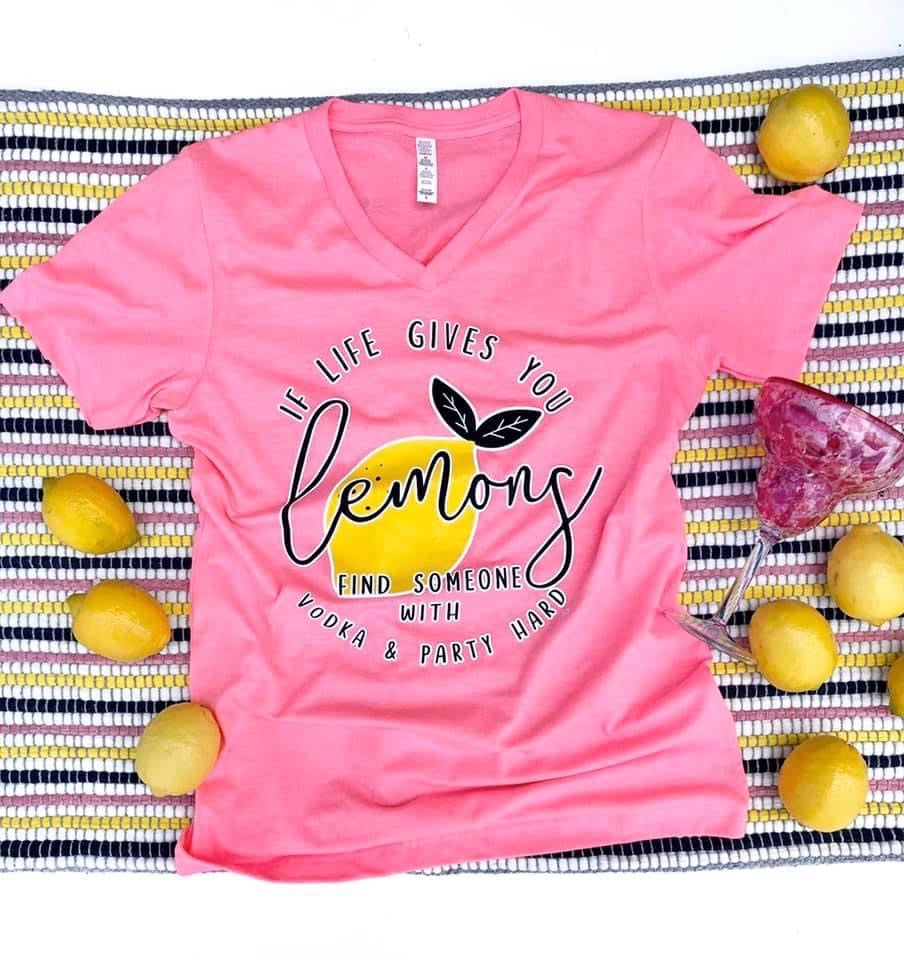 When life gives you lemons tee