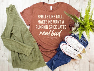 Smells like Fall tee