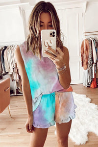 Tie Dye Lounge Set - multicolor