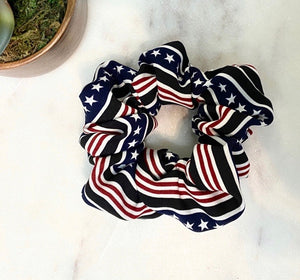 Patriotic scrunchies