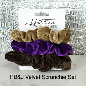 Velvet Scrunchie Sets
