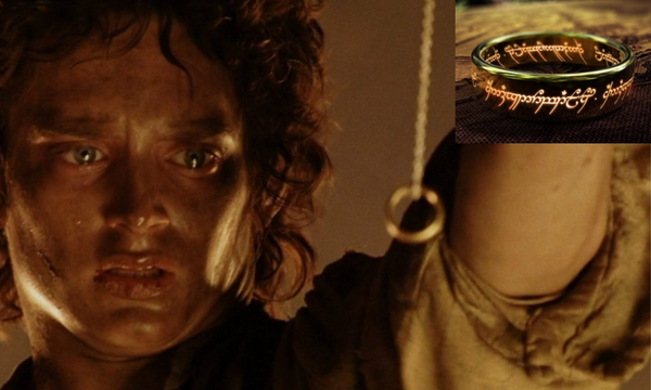 frodo looking at one ring
