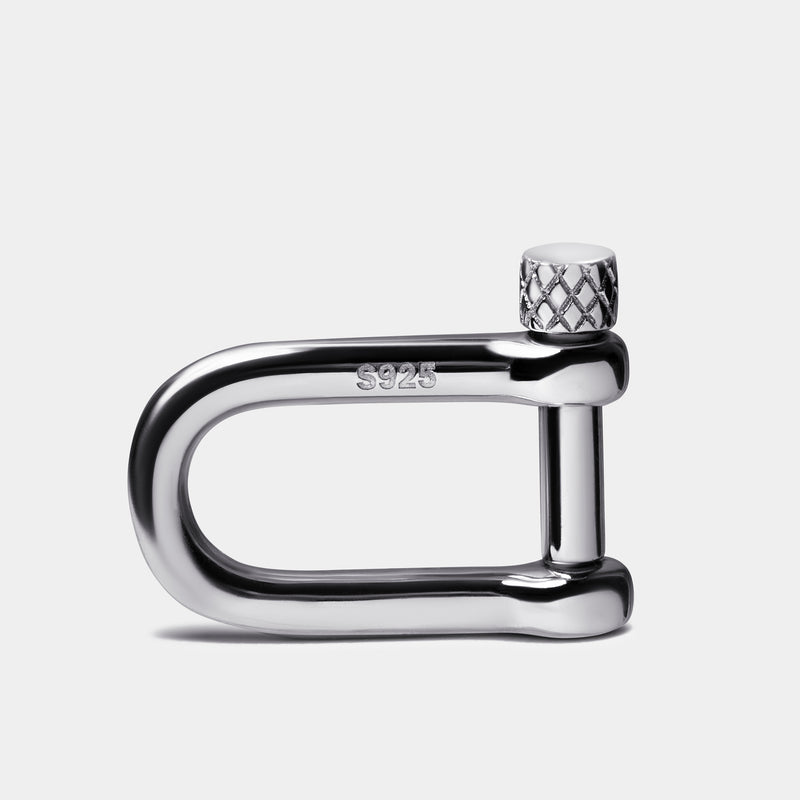 S925 Silver Classic Shackle