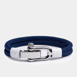 Duetto Navy Rope Bracelet
