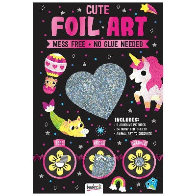 Foil Art - Sparkly cute