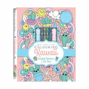 Kaleidoscope Colouring Kawaii