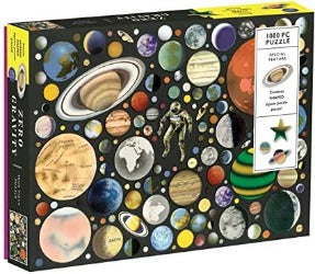 Puzzle - Galison 1000 Pc Zero Gravity