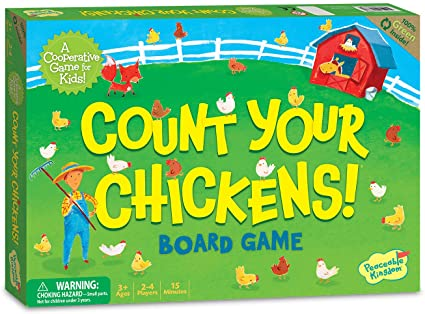 Game - Co-Operative Board Game - Count your chicken