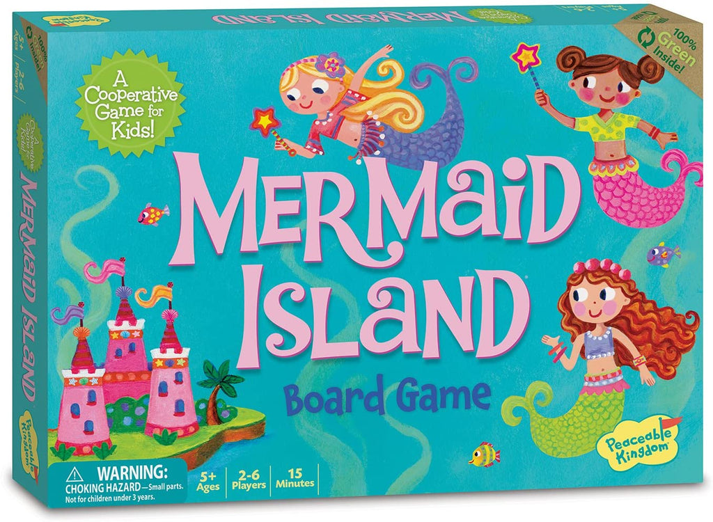 Game - Co-Operative Board Game - Mermaid Island