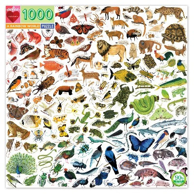 Puzzle - Eeboo Rainbow World 1000 pc