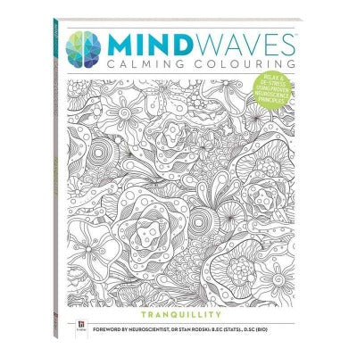Mindwaves Calm Colouring Books - Various