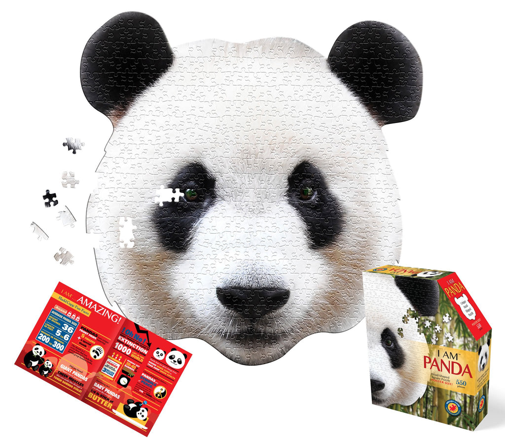 Puzzle - 550 piece Shape Cut 'I am Panda'