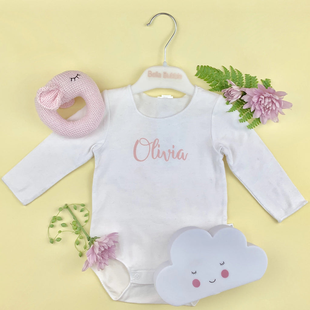BONDS - Personalised Baby onesie - Just pop a name on it
