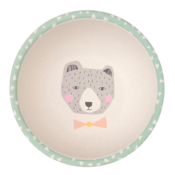 Love Mae - Divided Plate Set - Fox and Friends