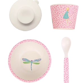 Fairy Bamboo Feeding Set