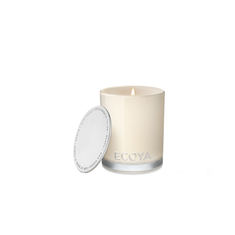 Ecoya - Candle Cedarwood & Leather Madison