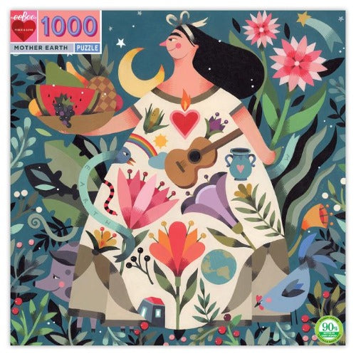 Puzzle - Eeboo Mother Earth 1000 pc