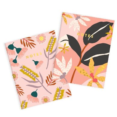 Orchid Twin Pocket Notebook