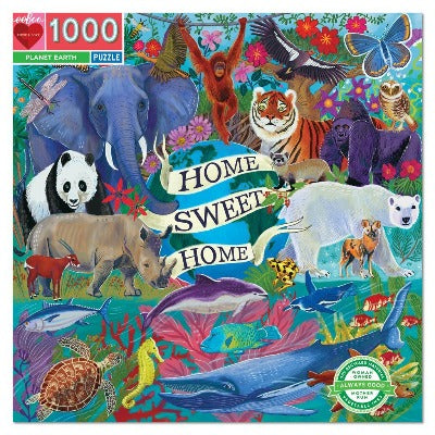Puzzle - Eeboo Planet Earth 1000 pc