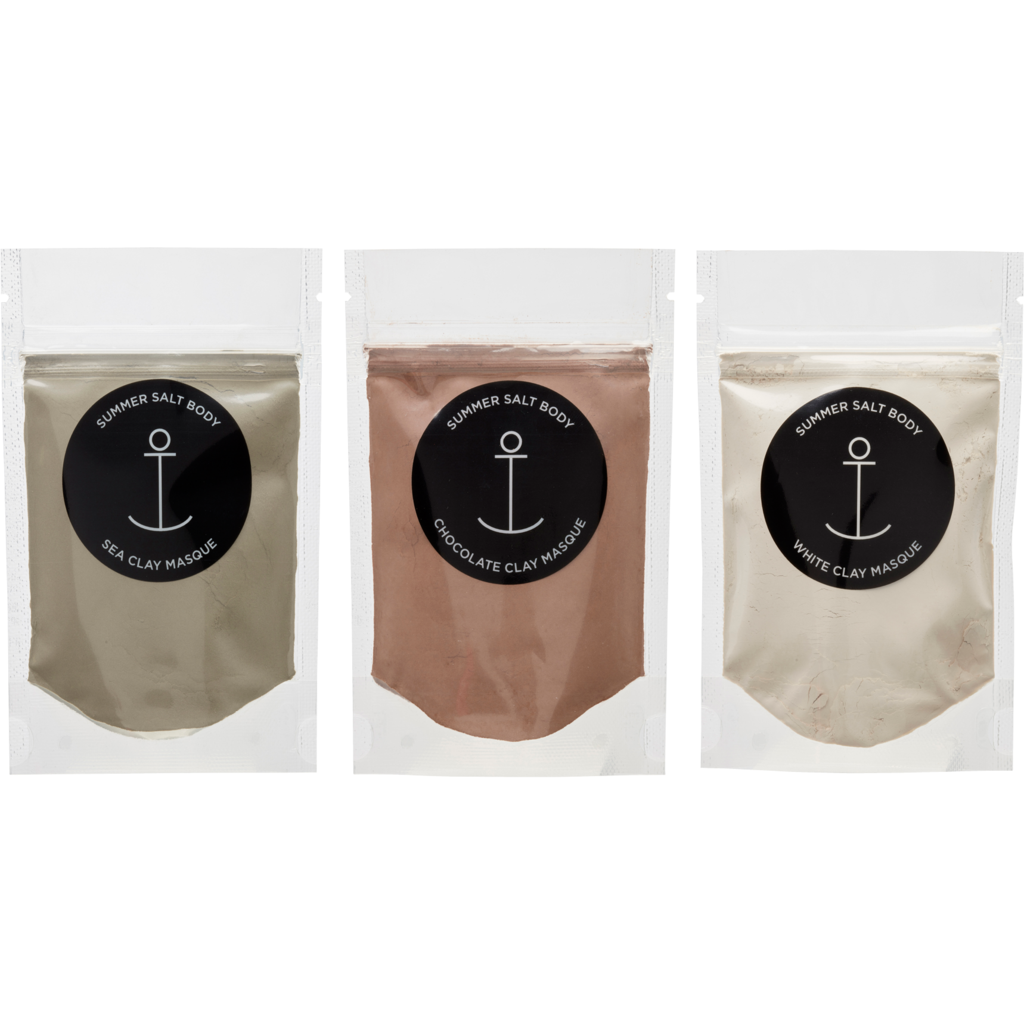 Organic Mini Clay Masque | Assorted