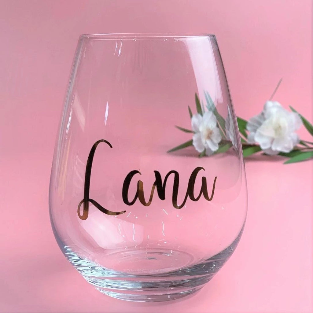 Bella Gifting - Personalised Glass