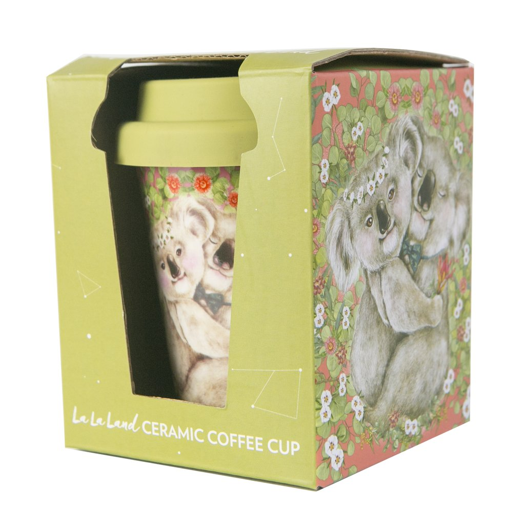 La La Land - Ceramic Coffee Cup Koala cuddles