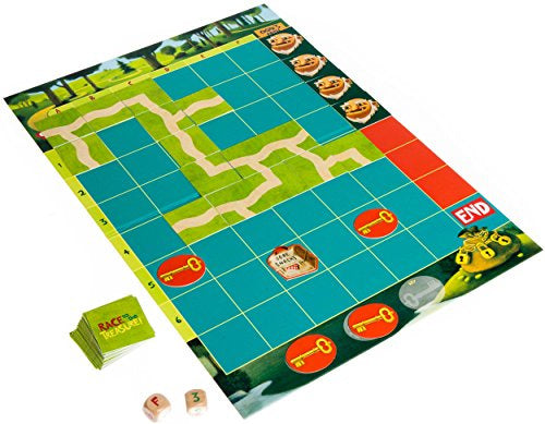 Game - Co-Operative Board Game - Race to the Treasure
