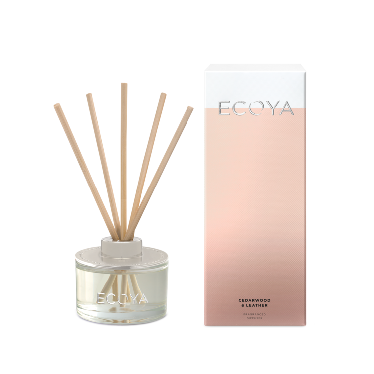 Ecoya- Diffuser Cedarwood & Leather