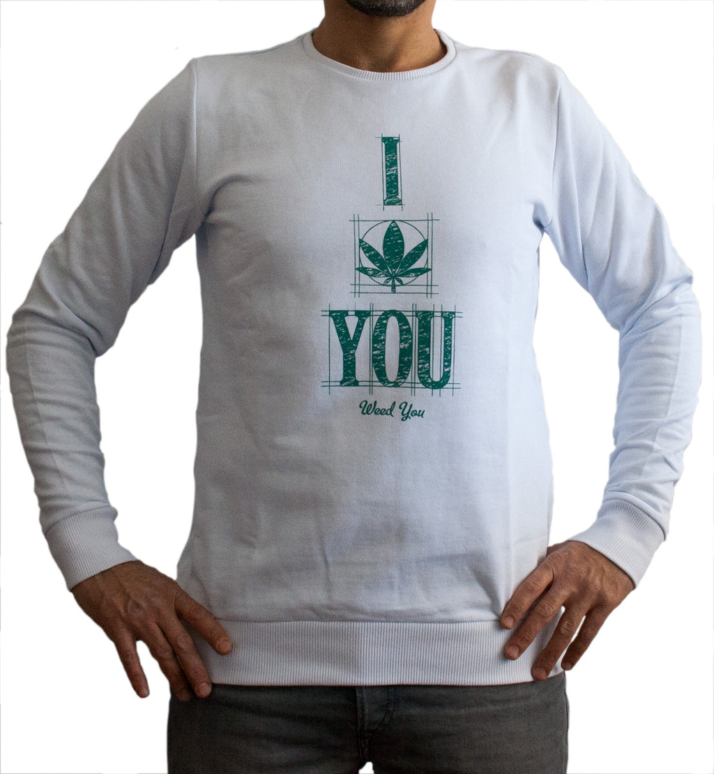 Sweater - I Weed You