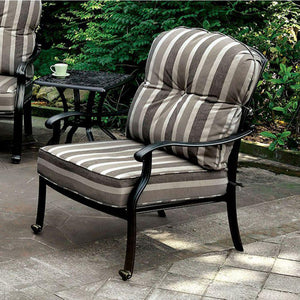 Edison Transitional Chair, Antique Black, Set Of 2