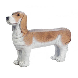 Michael Small Basset Hound Doggy Bench