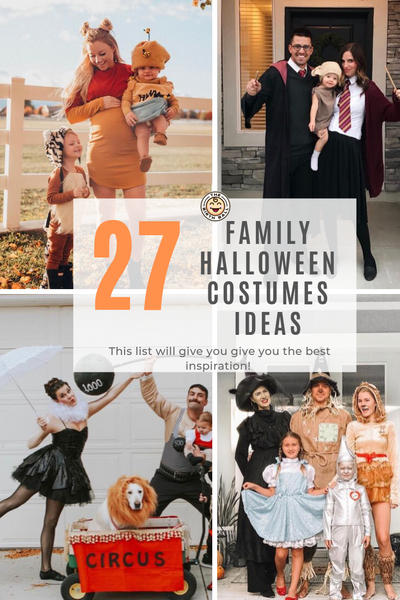 27 Family Halloween Costume Ideas!