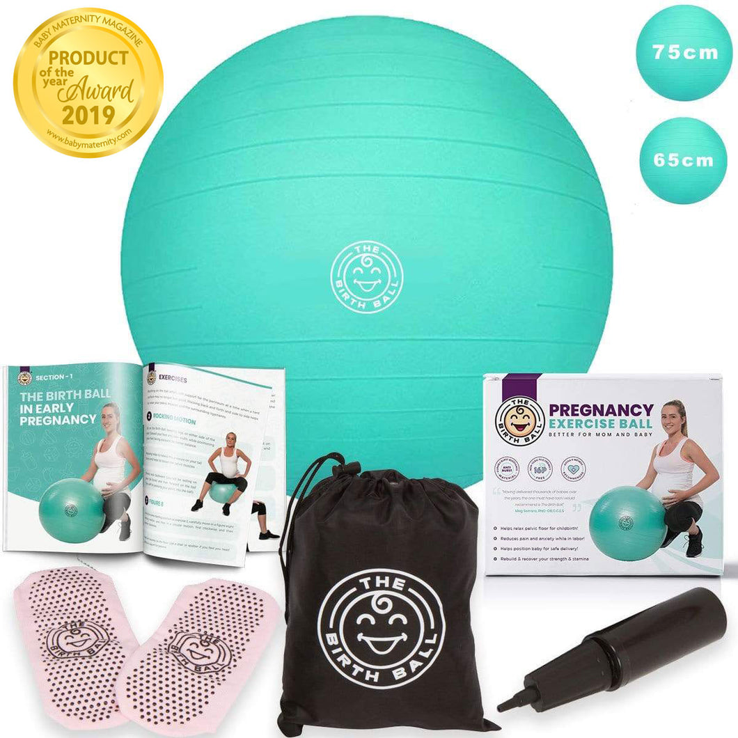 Buy The Birth Ball | # 1 Selling Birthing Ball For Pregnancy and Labor - FREE Rush Shipping