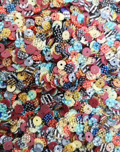 5mm Random Design opaque Sequins